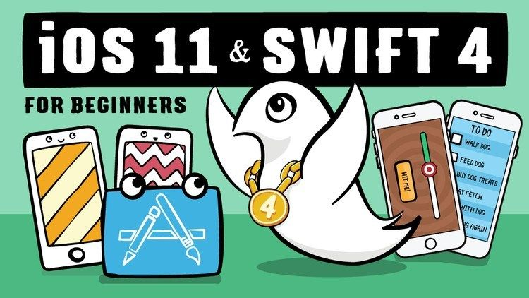 IOS 11 AND SWIFT 4 FOR BEGINNERS 200+ HANDSON TUTORIALS