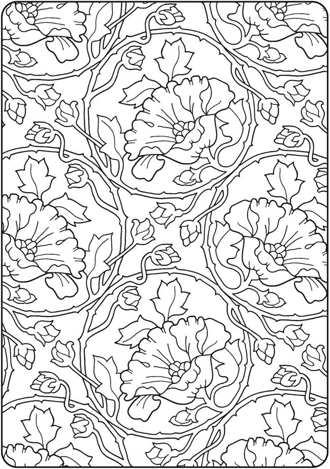 - Creative Haven Deluxe Edition Elegant Art Nouveau Coloring Book Pattern  Coloring Pages, Animal Coloring Pages, Flower Coloring Pages