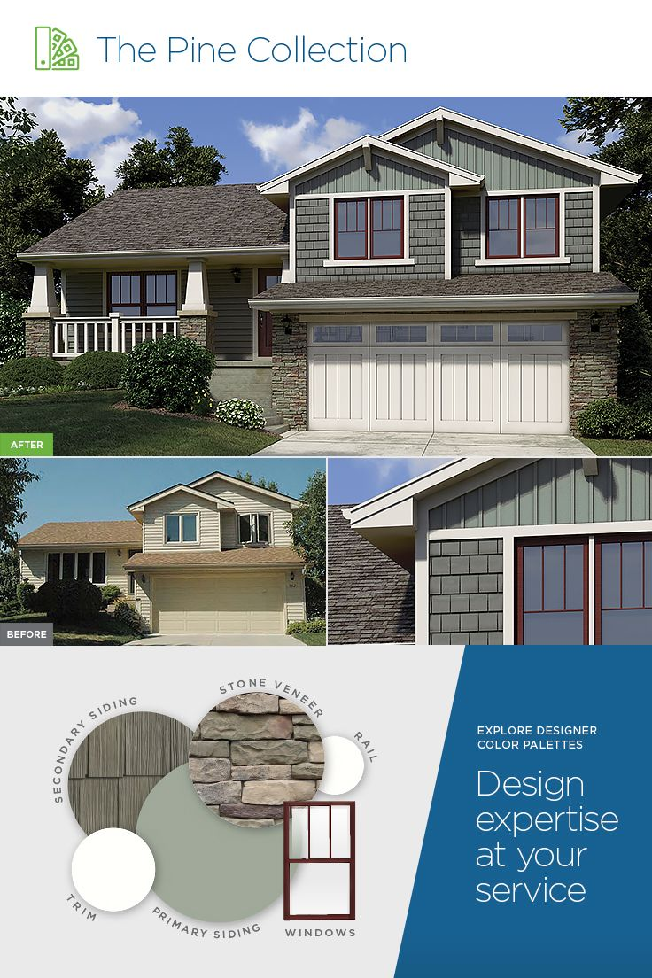 Stand Out With Tone And Texture Mastic Siding Featured