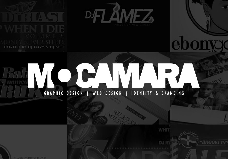 A great web design by Mo Camara, New York, NY: