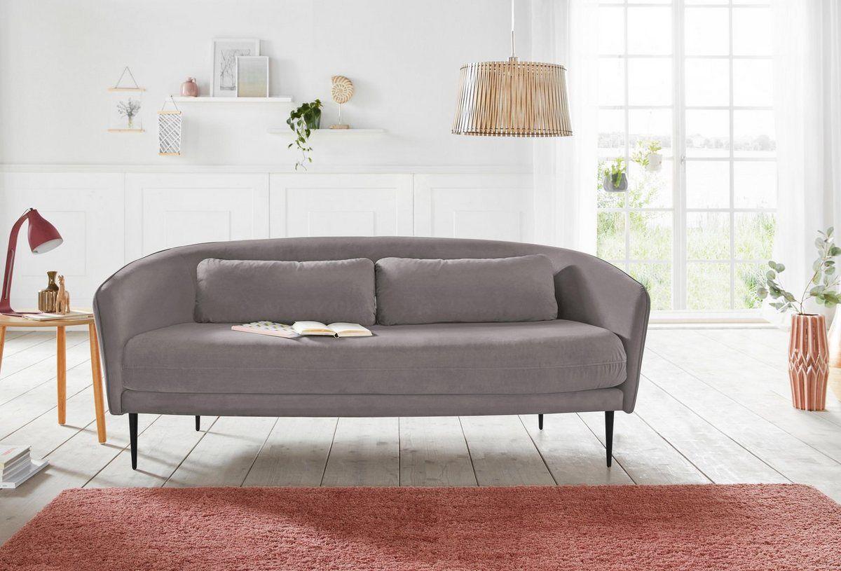 2 5 Sitzer Zany Mit Losen Kissen Und Holzbeinen Im Skandinavischem Design Home Decor Sofa Decor