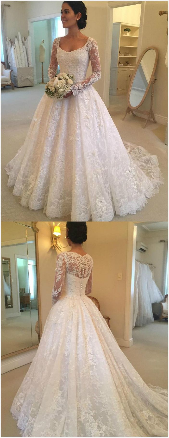 Mermaid wedding dresses with lace  lace wedding dressesMermaid Wedding Dresslong sleeves wedding
