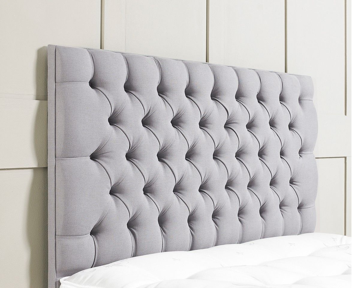 my bluegray upholstered headboard  b e d r o o m  b l i s s  - chesterfield upholstered headboard  upholstered headboards fr sueno
