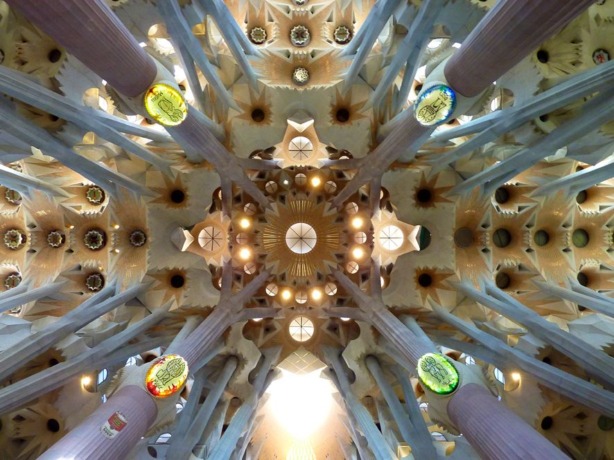 El Guisante Verde Project: Paseando con Gaudí
