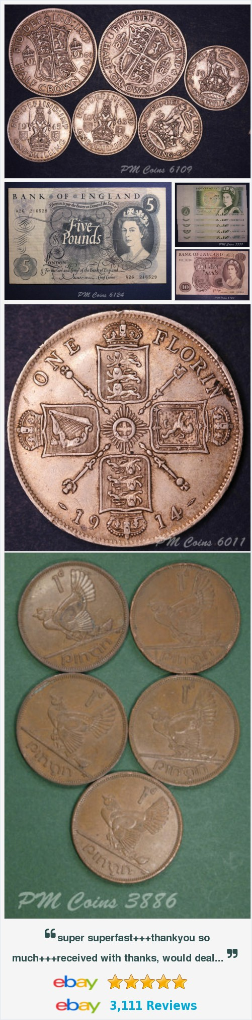 Ireland - Coins and Banknotes, UK Coins - Half Crowns items in PM Coin Shop store on eBay! http://stores.ebay.co.uk/PM-Coin-Shop/_i.html?rt=nc&_sid=1083015530&_trksid=p4634.c0.m14.l1581&_pgn=2