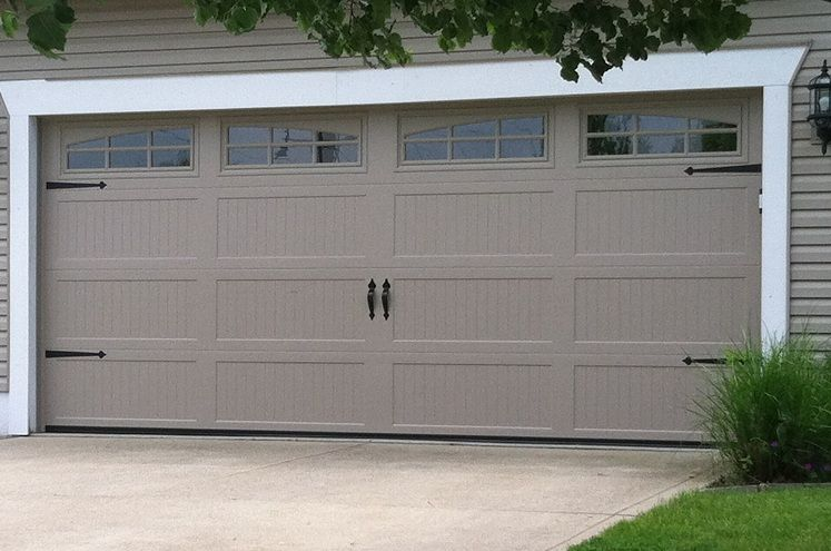 Long carriage panel garage door repair and installation for Ann arbor garage door repair