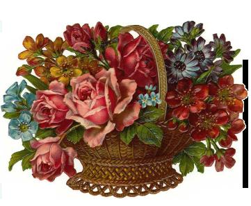 Винтажные картинки для декупажа - Винтажные букеты из роз. Обсуждение на LiveInternet - Российский Сервис Онлайн-Дневников