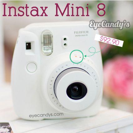 Fuji Instax Mini 8 Is The Cutest Film Camera Around Best Price