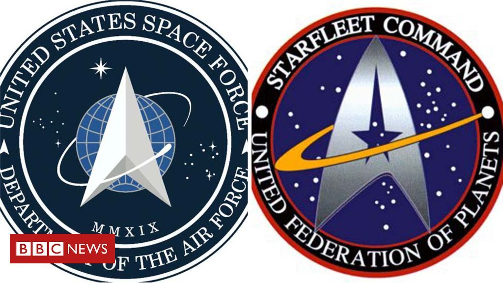 US Space Force logo looks like one from Star Trek in 2020