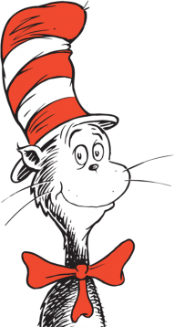 Dr Seuss The Cat In The Hat Giant Png Image With Transparent Background Png Free Png Images Seuss Free Png Image