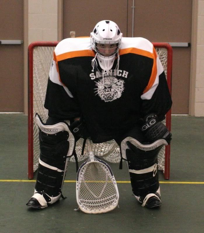 Box Goalie Box Lacrosse Goalie Fun Sports