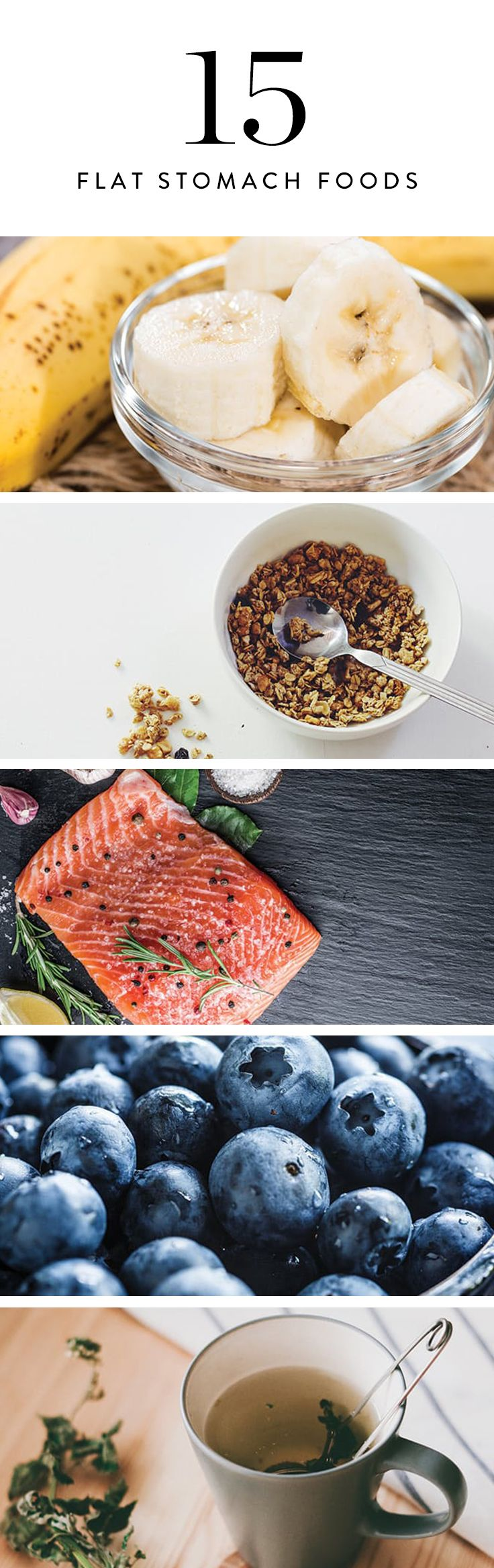 15 Foods to Eat for a Flatter Stomach