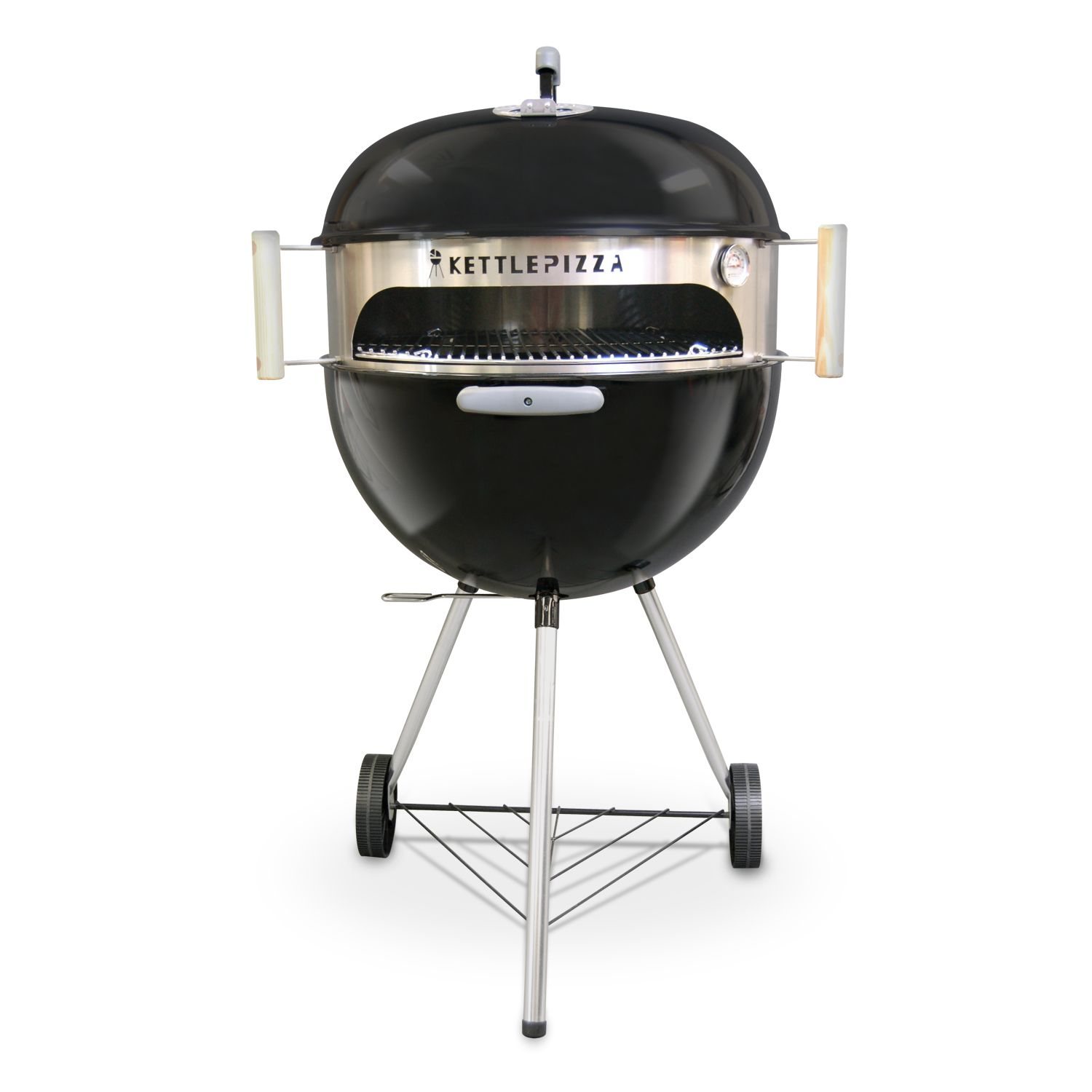 Pizza oven kit for kettle grills outdoor pizza oven woodfired