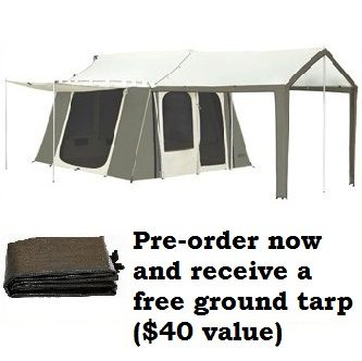 Kodiak Canvas Tent - 6 Person 9 ft. x 12 ft. with Deluxe Awning  sc 1 st  Pinterest : kodiak 6 person tent - memphite.com