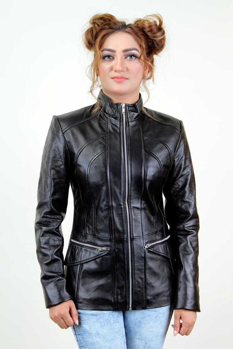 Jackherald Women Sky Prime Leather Etsy Trending Outfits Fashion Women [ 1191 x 794 Pixel ]