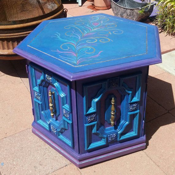 Pin By Sunstroked On Etsy On Hand Painted Furniture