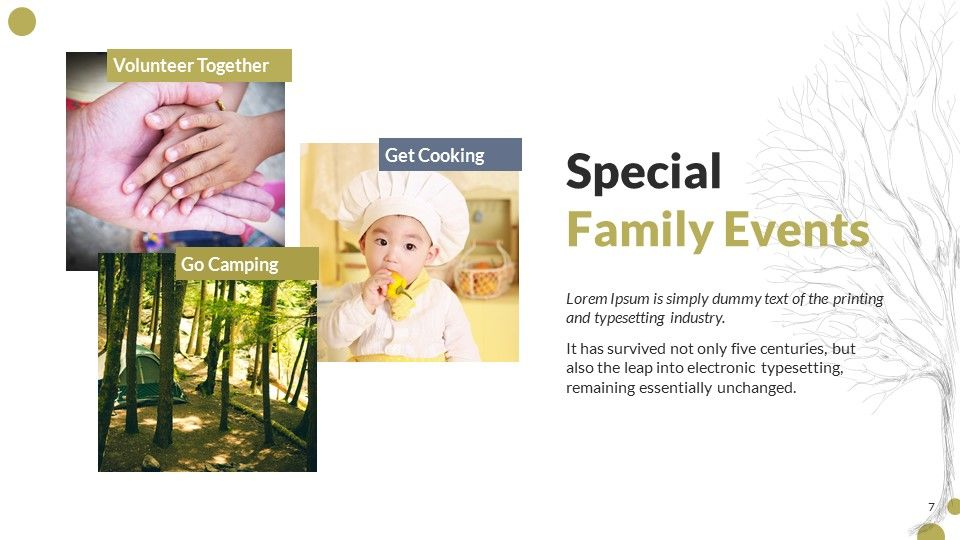 Family Book PowerPoint Presentation Template | PowerPoint