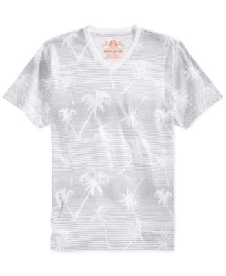 American Rag Knock Out Palm Tree T-Shirt