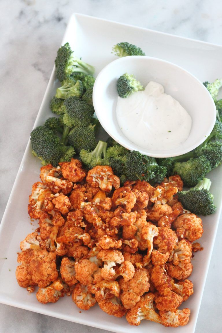 Low Carb Air Fried Buffalo Cauliflower Low Carb Delish