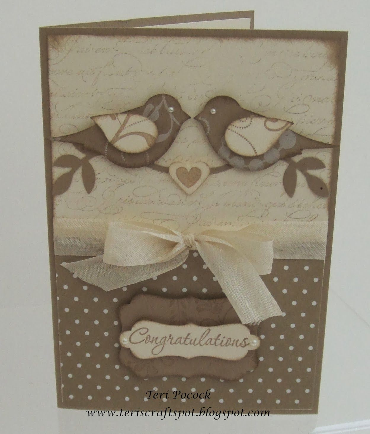 Bird Punch Wedding Card Wedding Card Perfect Wedding And Bird
