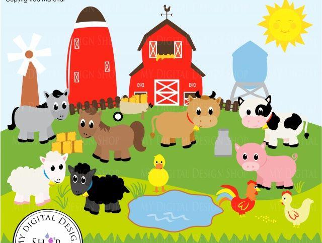 old macdonald farm clip art clipart free download old mcdonald rh pinterest co uk free farm clipart images farm clipart images