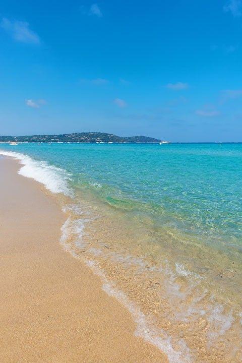 Beaches Of Saint Tropez Amazing Travel Destinations Pinterest