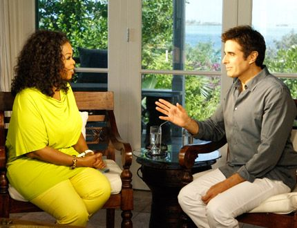"Oprah Winfrey interviews David Copperfield for ""Oprah's Next Chapter"""