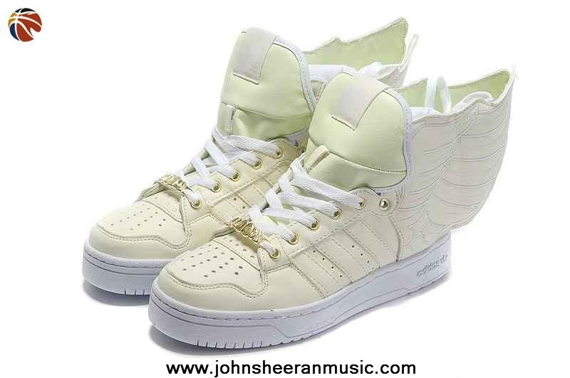 Authentic Adidas X Jeremy Scott Wings 2.0 Glow In Dark Shoes For Sale