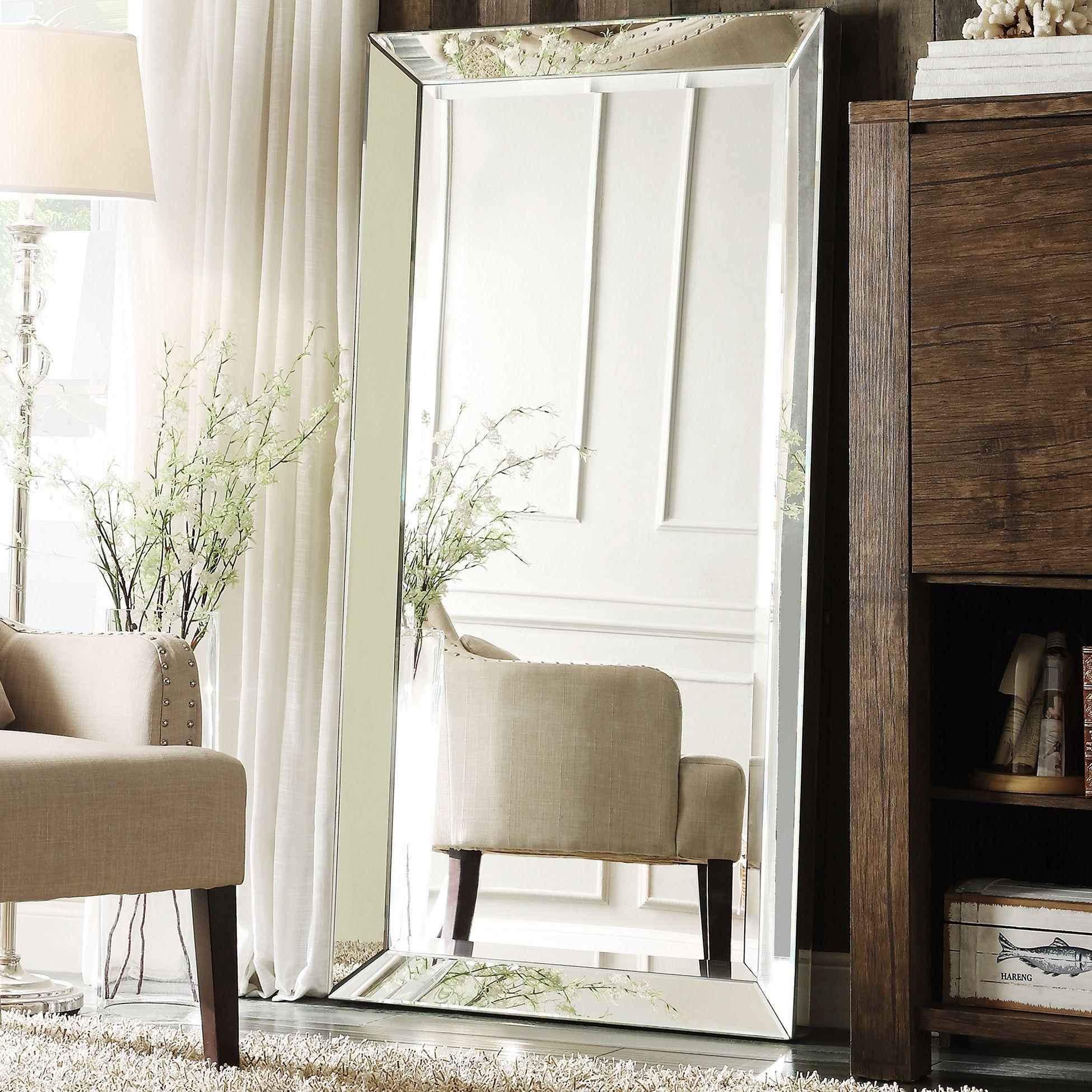 Three Posts Madelina Floor Mirror & Reviews | Wayfair | Moody Moods ...