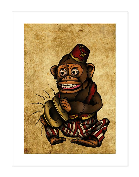 Jim Jam The Musical Monkey Toy Playing Cymbals Neo Traditional