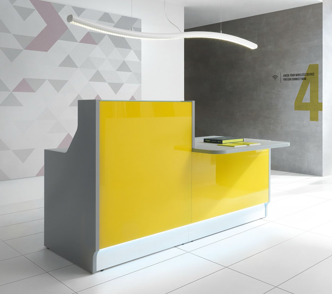 office reception table design. Linea Linear Reception Desk By MDD Office Table Design