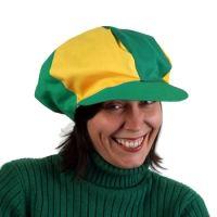 Six Panel Gatsby Hats - Green Yellow  f7d340c765e6