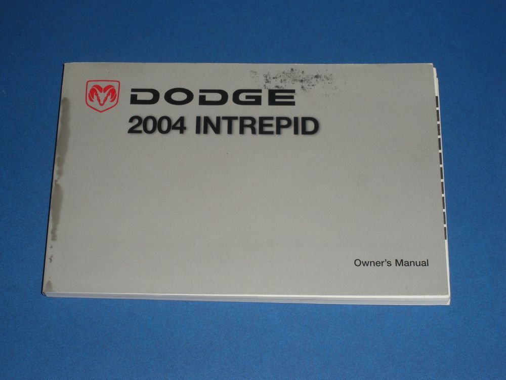 2004 dodge intrepid owners manual book owners manuals pinterest rh pinterest com 2004 dodge intrepid owners manual pdf 2013 Dodge Intrepid