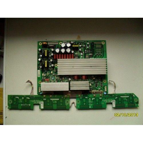 LG PLASMA TV 6870QYE011D 6871QYH036D -6870QDE014B 6871QDH084A - 6870QFE014B 6871QDH085A MATSUI 42P900A Ysus Board