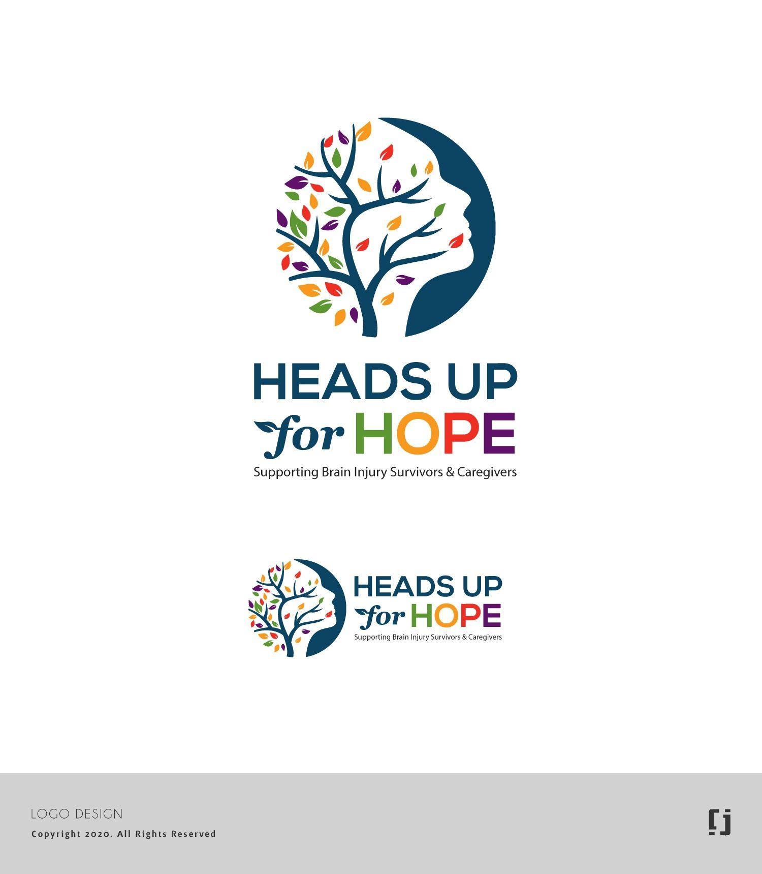 Design 148 by jn7_85 heads up for hope logo branding