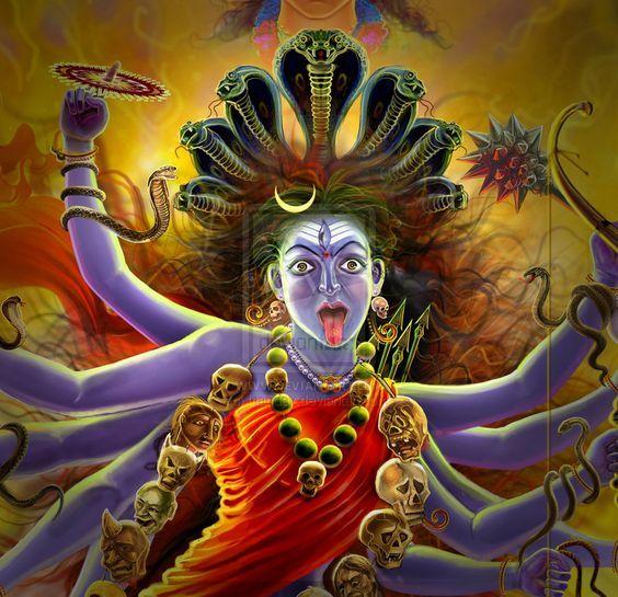 Hindu Goddess Kali - i just love the Kali :-)