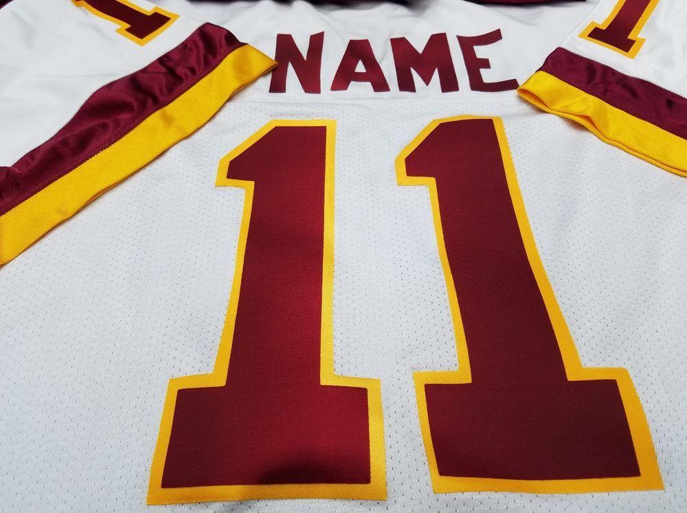 df5b27fc7  00 Big Tall Washington Custom Football Jersey Your Name Number-Sewn-On. (eBay  Link)