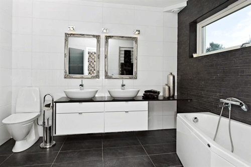 Snyggt badrum Bathroom Pinterest Badrum