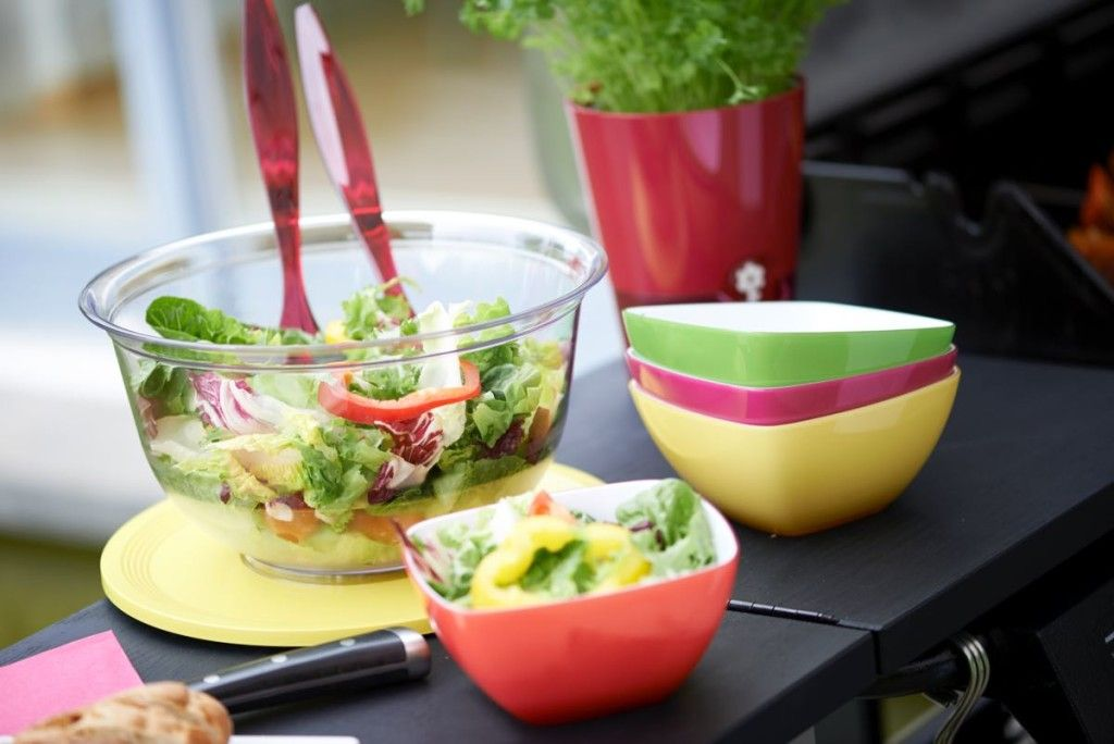 Süße Salatschüsselchen in bunten Farben / Cute salad bowls  in bright colors   Homstyle & Friends   Nordstil Winter 2016   TOP FAIR Blog