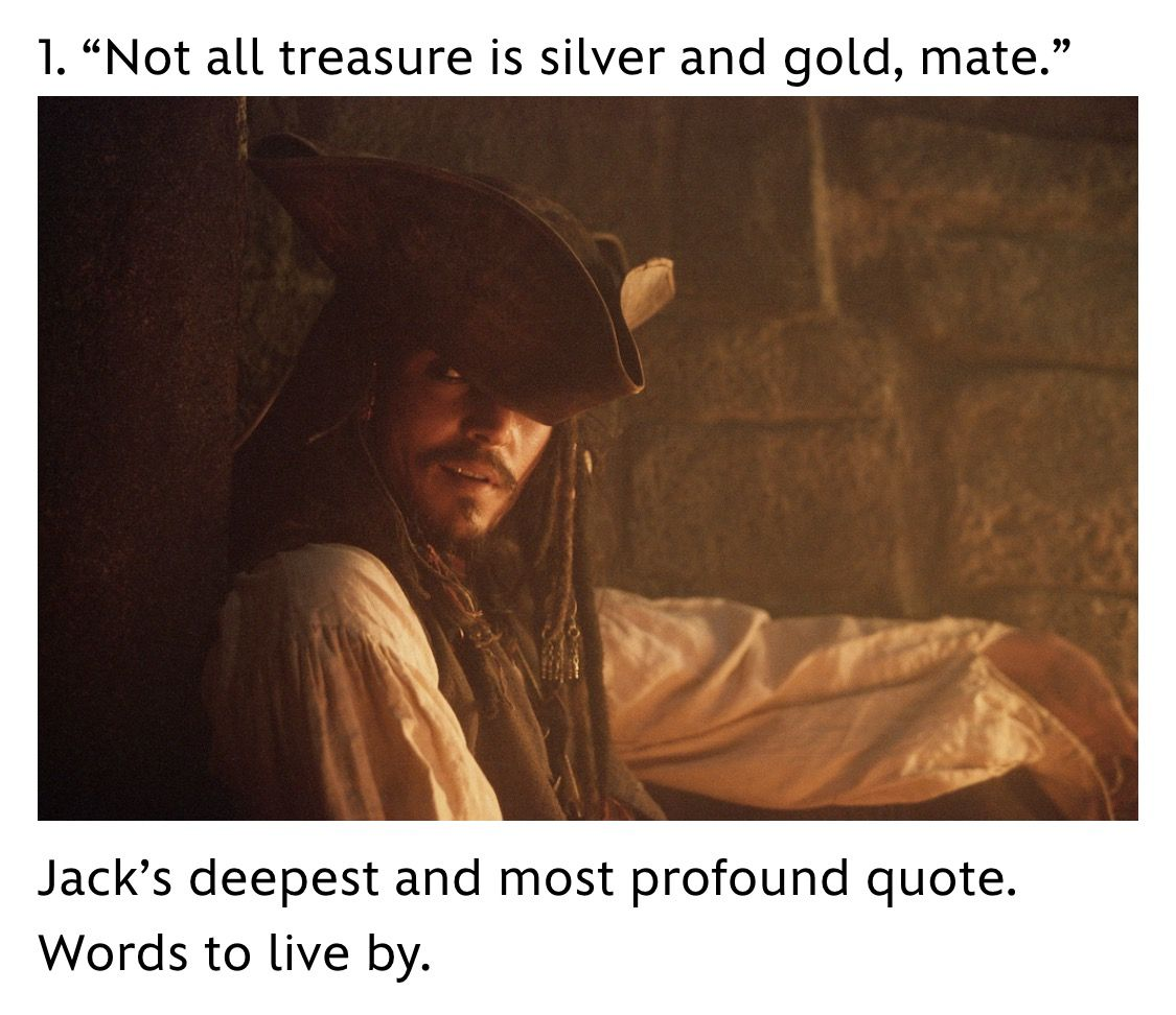 Pirates Of The Caribbean Quotes Unless He Was Thinking About Rumin The Context Used He Wasn't