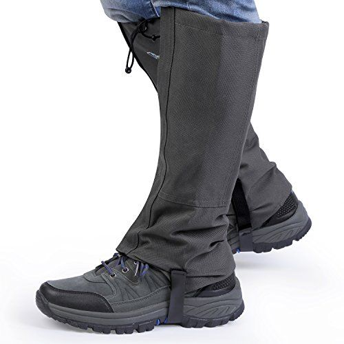 Unisex Outdoor Hiking//Walking//Trekking Waterproof Boot High Legging Gaiters