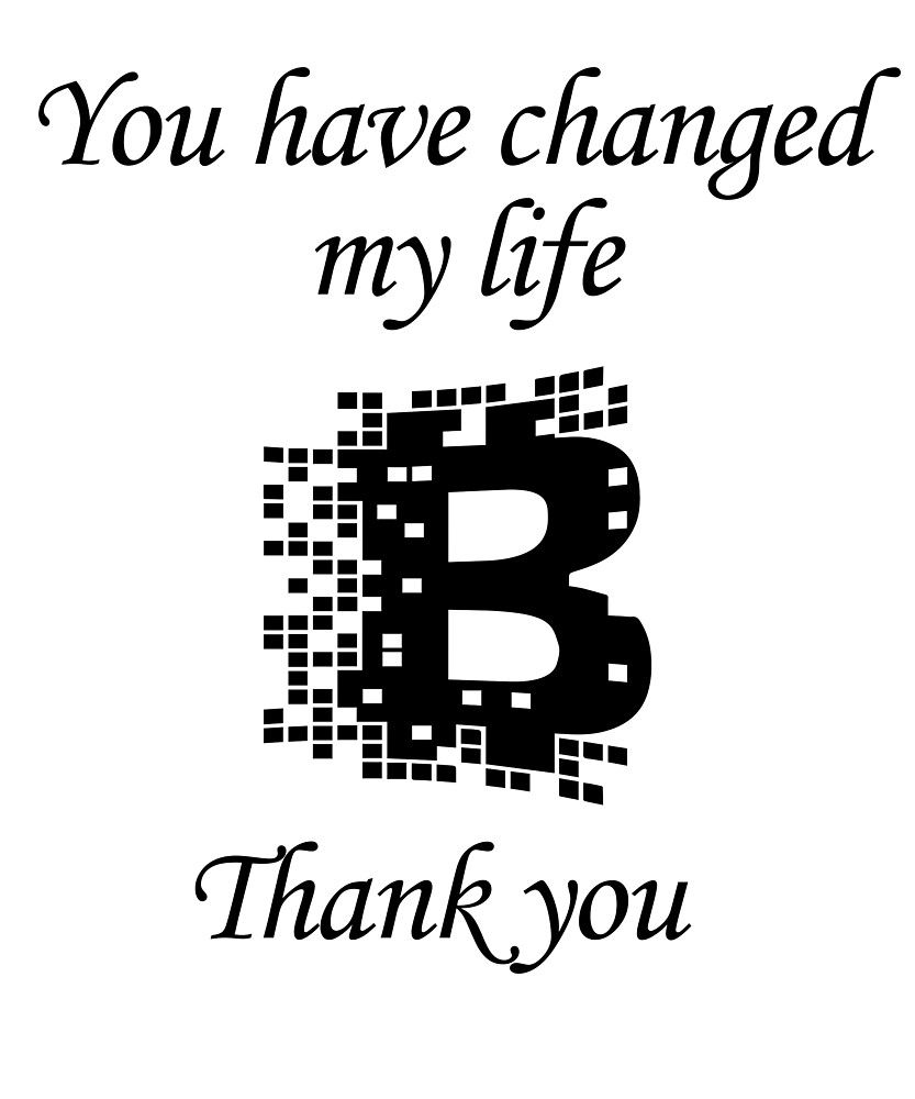 change to bitcoin