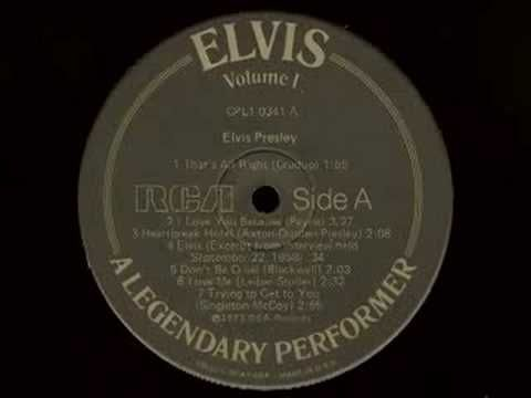 Elvis Presley Don T Be Cruel 1956 This Was A Double A Side Hit With Hound Dog This Side Charted At Elvis Presley Songs Elvis Sings Elvis Presley Music