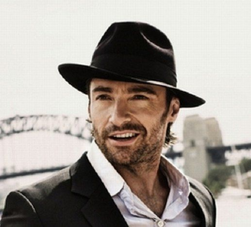 f378a234 Hugh Jackman | Men´s style: hats | Hats, Fadora hats, Hats for men