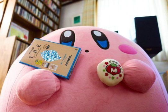 Giant Kirby Plush released by Bandai -