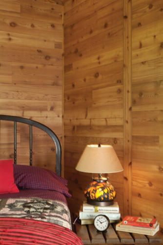 American Pacific 4 X 8 Western Red Cedar Panel At Menards Cedar Paneling Cheap Interior Design Cedar Planks