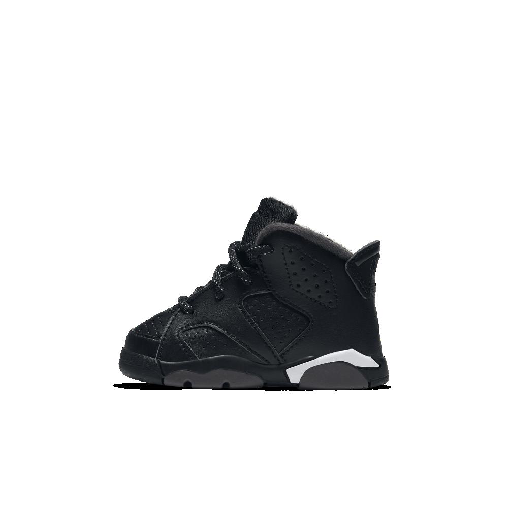 c3373942069 Air Jordan Retro 6 Infant/Toddler Shoe, by Nike Size 10C (Black) - Clearance  Sale