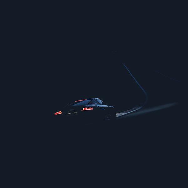 Audi Car Wallpaper: Wallpaper-ar21-audi-car-drive-blue-dark-road-street