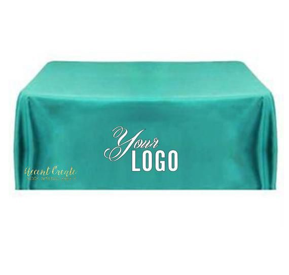 Swell 6Ft Tablecloth Logo Personalized Table Cloth Vendor Home Remodeling Inspirations Cosmcuboardxyz