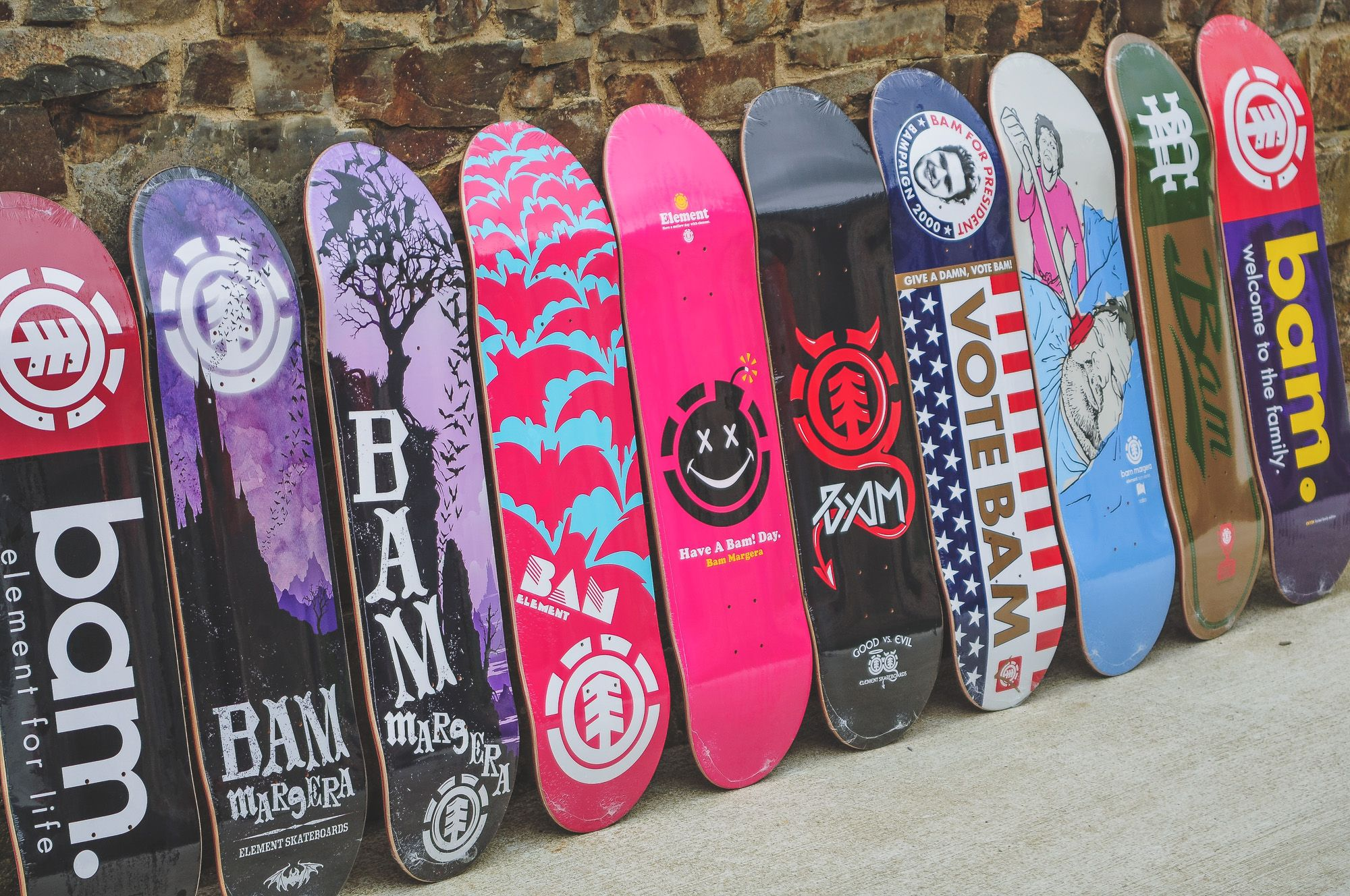038c9119f9c7 BAM MARGERA DECKS - If you're a skateboarder from the late 90's / early  00's then chances are that you were a Bam Margera fan, or at very least you  would ...
